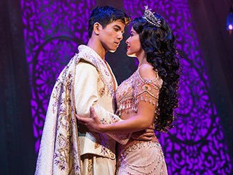 Billets pour Aladdin à Broadway - Aladdin et Jasmine