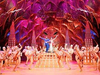 Billets pour Aladdin à Broadway - Genie et Aladdin