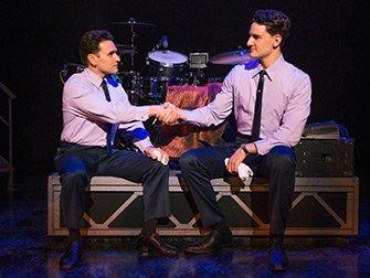 Billets pour Jersey Boys à New York - Poignée de main