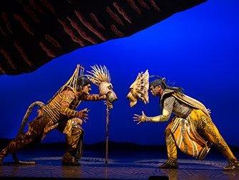 Billets pour Le Roi Lion à Broadway - Bataille
