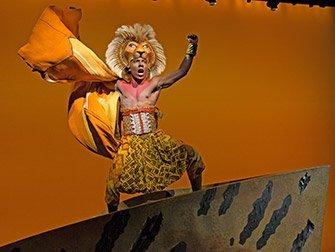 Billets pour Le Roi Lion à Broadway - Simba