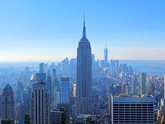 Billets pour le Top of the Rock - Vue sur l'Empire State Building