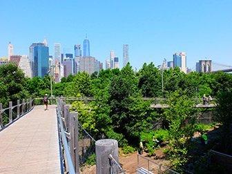 Brooklyn Bridge à New York - Squibb Bridge