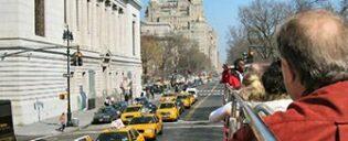 Bus touristique à New York -