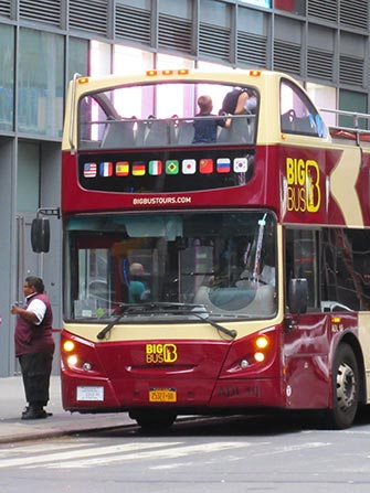 Bus touristique à New York - Big Bus