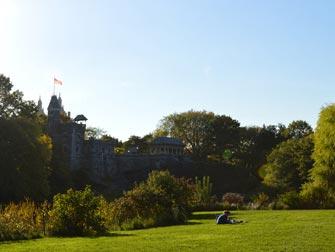 Central Park - Belvedere Castle en été