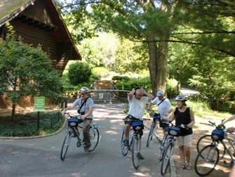 Central Park - Promenade à vélo