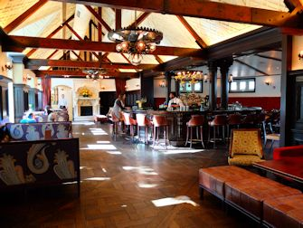 Central Park à New York - Bar du Tavern on the Green Restaurant
