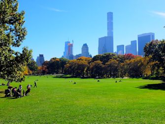 Central Park à New York - Sheep Meadow