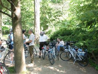 Central Park - faire du vélo