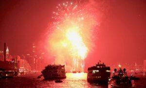 Croisières du 4 juillet - Feux d'artifice