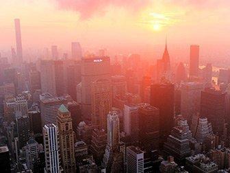 Empire State Building Tickets - Lever de soleil sur East River