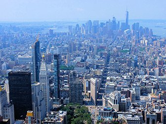 Empire State Building Tickets - View sur Downtown