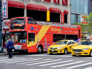 Formule bus touristique plus attractions à New York