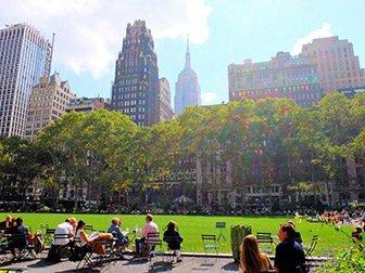 Les parcs à New York - Bryant Park
