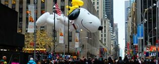 Macys Thanksgiving Parade à New York