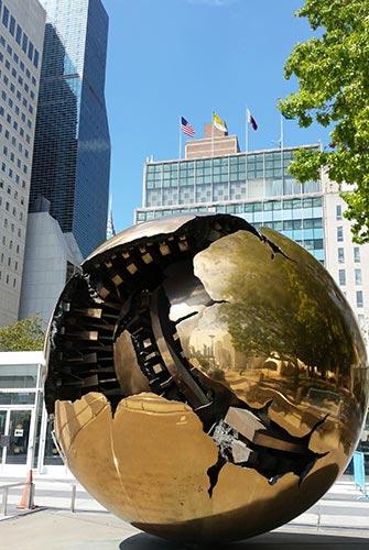 ONU à New York - Globe