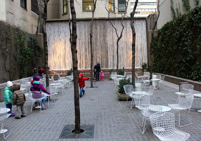 Parcs à New York - Paley Park