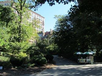 Parcs à New York - Riverside Park