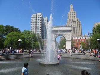 Parcs à New York - Washington Square Park