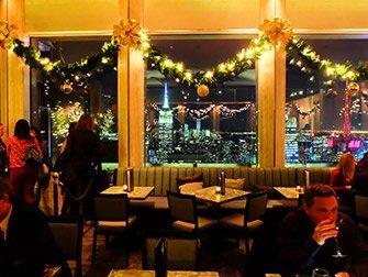 Rockefeller Center à New York - Bar SixtyFive