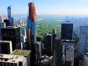 Rockefeller Center à New York - Top of the Rock