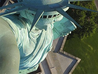 Statue de la Liberté - Couronne