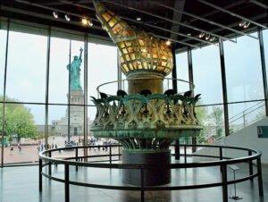 Statue de la Liberté - Torche