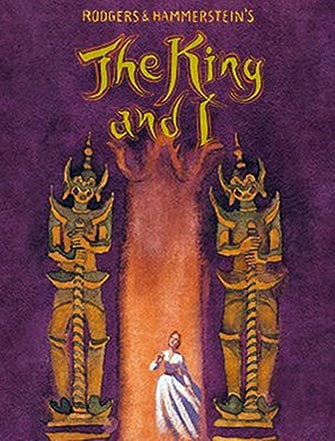 The King and I à Broadway - Affiche