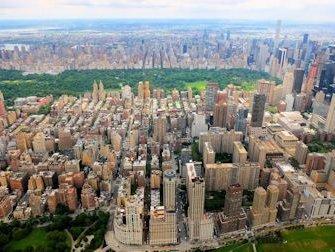 Vol en hélicoptère a New York Itinéraires - Central Park