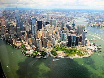 Vol en hélicoptère à New York - Skyline