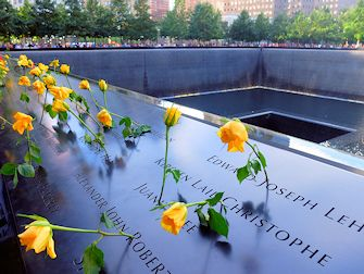 9/11 Museum à New York - Roses
