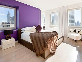Appartement à New York -Times Square Towers chambre