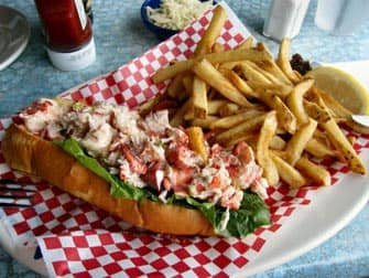 Boston Freedom Trail - Lobster Roll