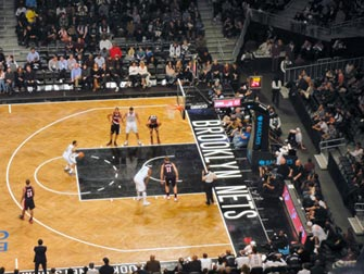 Brooklyn Nets à New York - Match de Basket