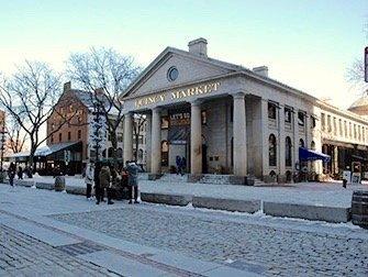 Excursion à Boston - Quincy Market