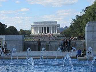 Excursion à Washington en bus - Lincoln Memorial