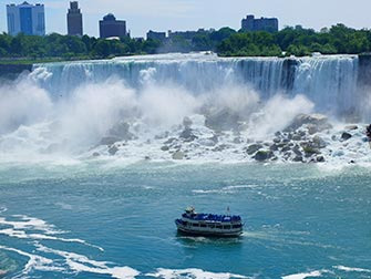 Excursion de New York aux Niagara Falls - Tour en Bateau