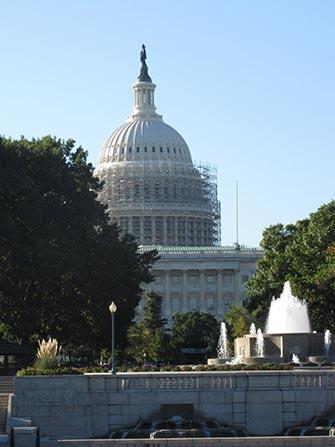 Excursion en train à Washington - Capitol