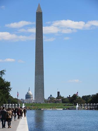 Excursion en train à Washington - Monument