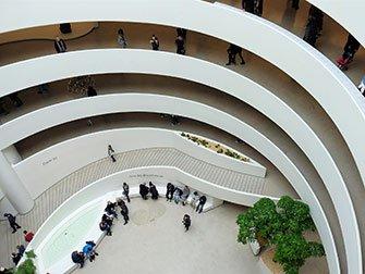 Guggenheim Museum à New York - Intérieur