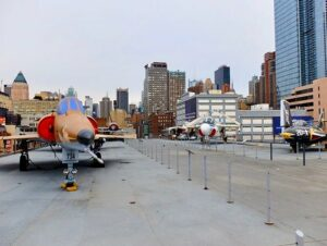 Intrepid Sea, Air and Space Museum in New York - The Deck