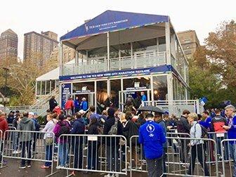 Marathon de New York - Pavilion