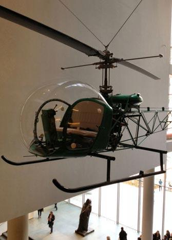 MoMA à New York - Hélicoptère