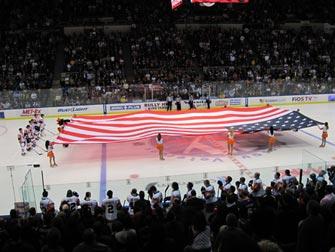New York Islanders - Drapeau américain