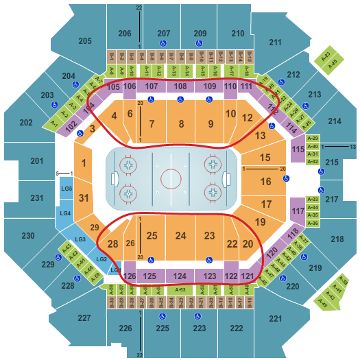 New York Islanders Tickets - Barclays Center Seating Chart