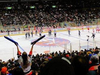 New York Islanders - la foule