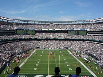 New York Jets - Match de football américain