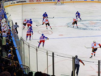 New York Rangers - Match Hockey sur Glace