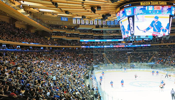 New York Rangers - Match Madison Square Garden